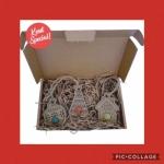 Geschenk per post Blossombs kersthangers