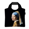 Ecozz vouwtasje Johannes Vermeer- Meisje met de parel